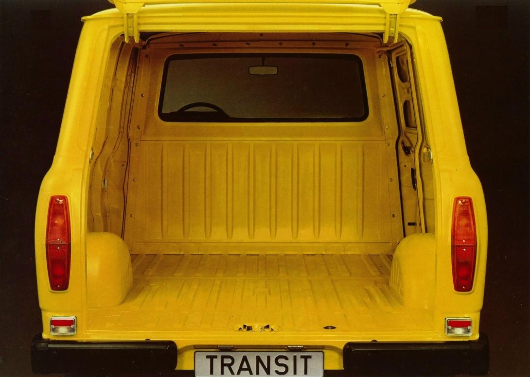 Ford Transit Van >> Transit 1980